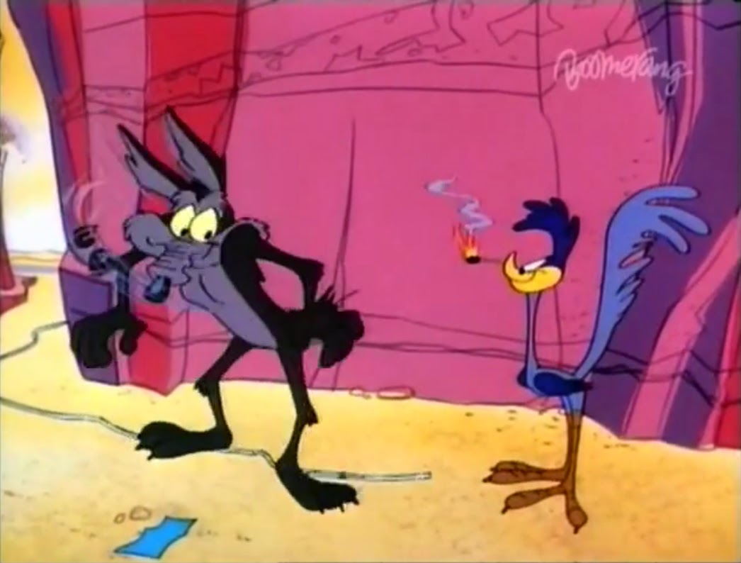 Wile E Coyote And Road Runner Hip Hip Hurry