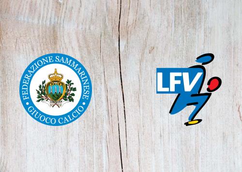 San Marino vs Liechtenstein -Highlights 08 September 2020