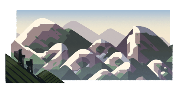 Mountain Day 2016 - Google Doodle