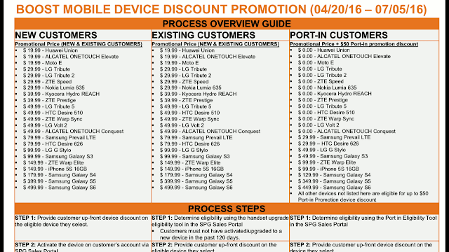 Boost phone discounts