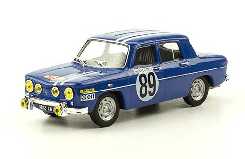 collezione rally monte carlo Renault 8 Gordini 1969 J-L. Therier - M. Callewaert