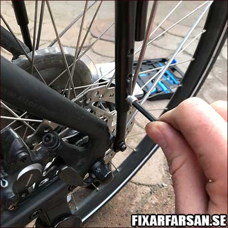 Montera-Pakethållare-Cykel