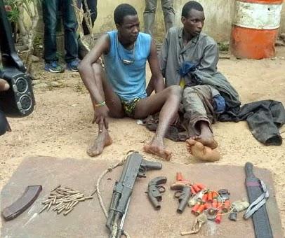 armed robber ghana killed ogun