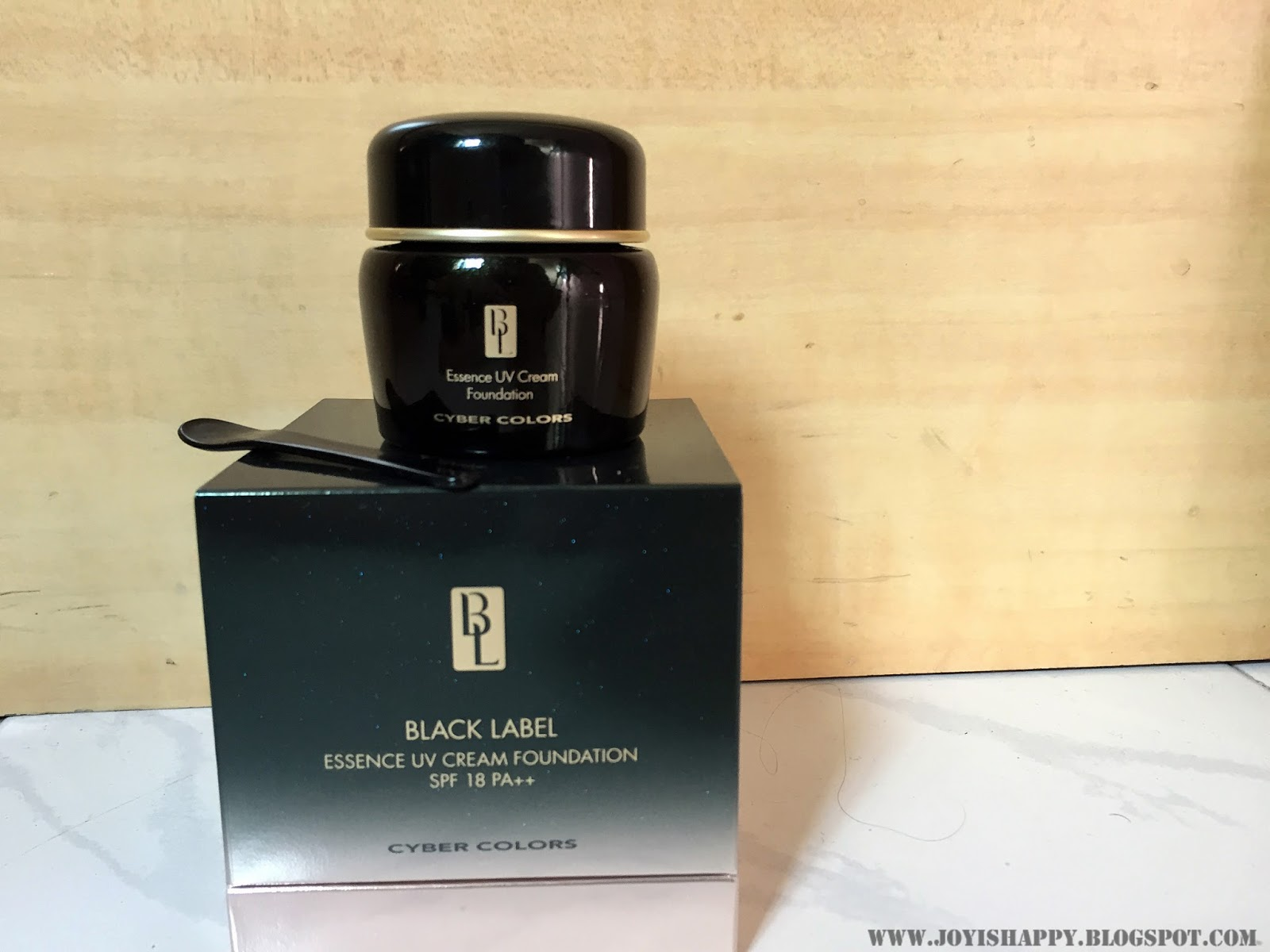 Cyber Colors Black Label Cream foundation review