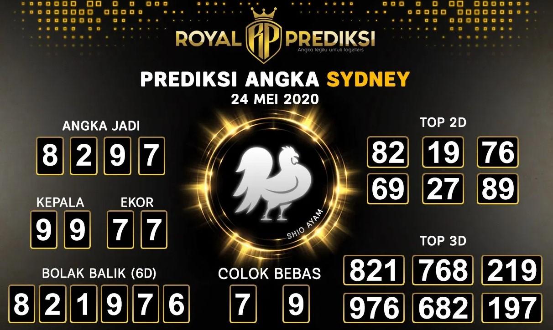 Prediksi Togel Sydney Minggu 24 Mei 2020 - Royal Prediksi