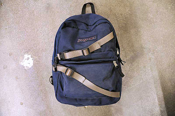 593d923f I didn't forget about the front part of the backpack. Other than the  pencils, sharpener, goggles, and empty film canisters, there was something  that I found ...