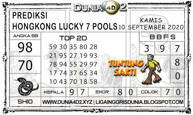 Prediksi Togel HONGKONG LUCKY7 DUNIA4D2 09 SEPTEMBER 2020