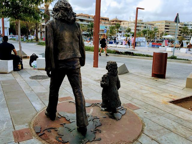Monumento a los hippies de Ibiza