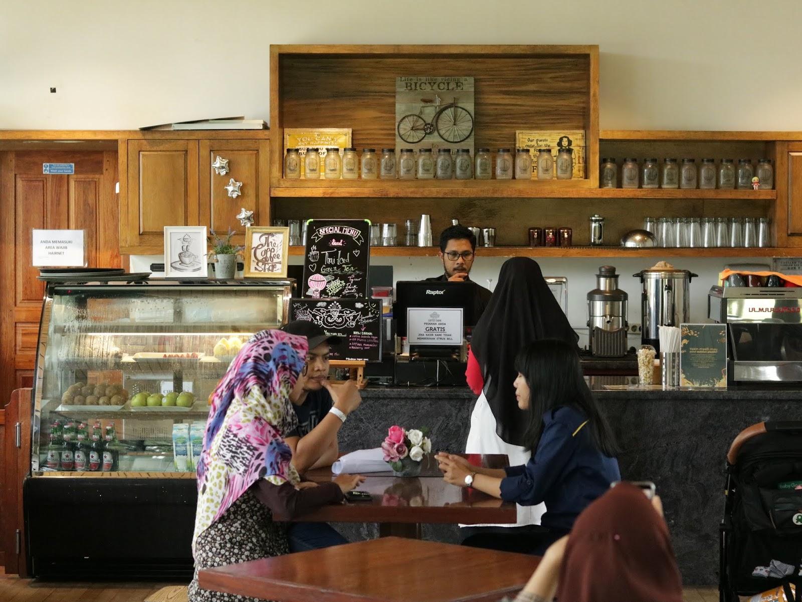 meja kasir coffecabin budayaland