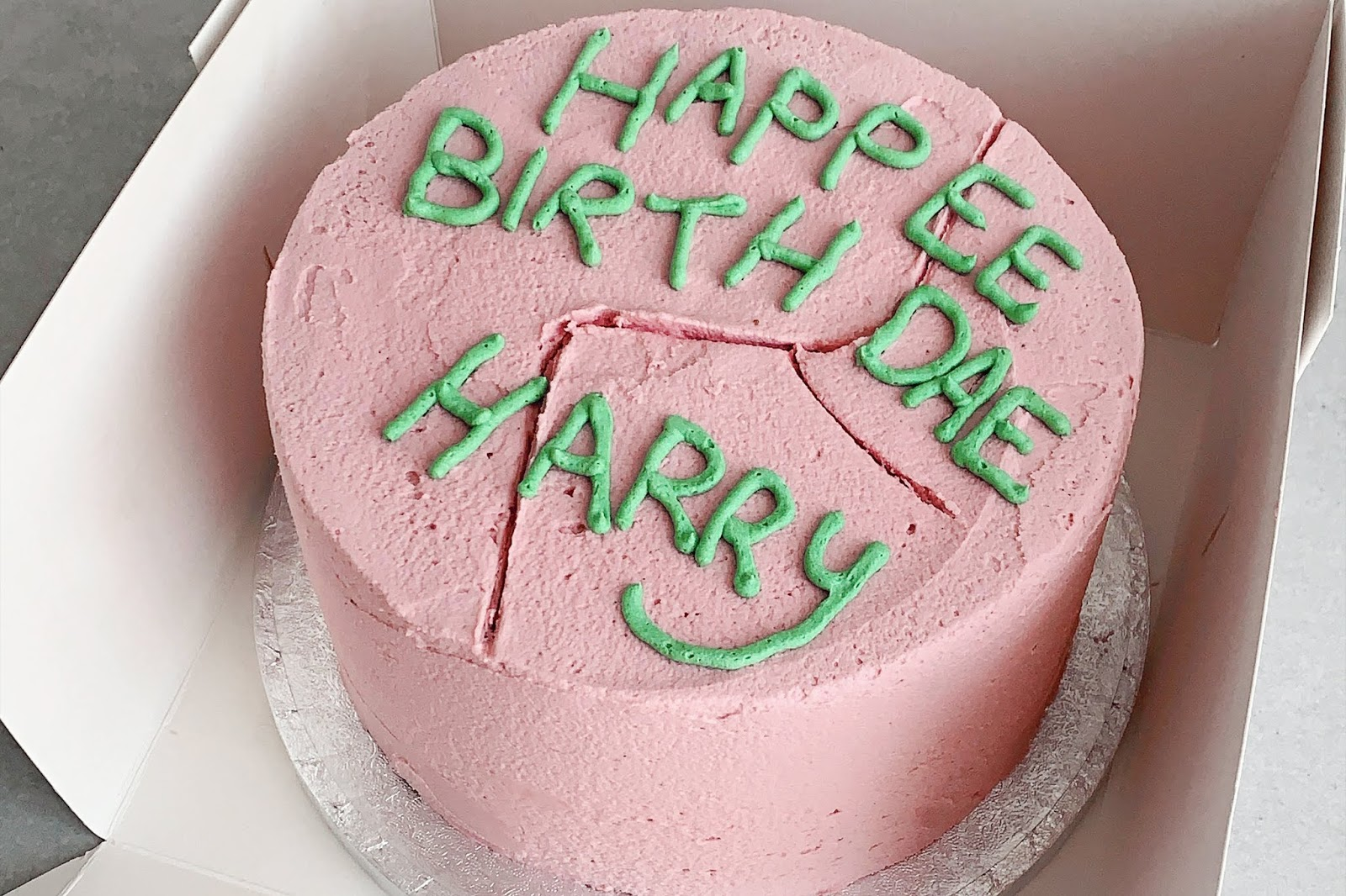 Outstanding Harry Potter Chocolate Cake Recipe The Little Blog Of Vegan Personalised Birthday Cards Paralily Jamesorg
