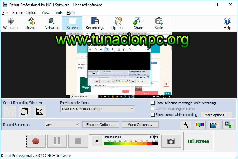 Descargar NCH Debut Video Capture Software Pro Full Imagen