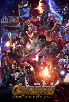 Avengers Infinity War 2018 Dual Audio 720p WEB-DL 850Mb HEVC x265