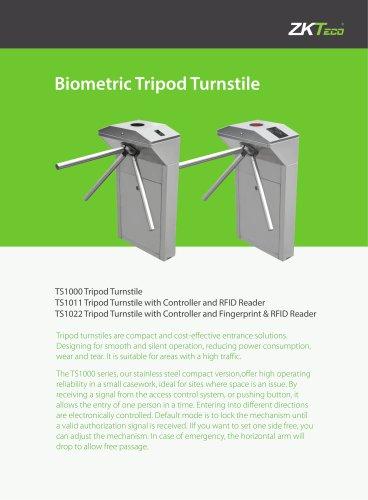 Tính năng sản phẩm Tripod Turnstile ZKTeco TS1000