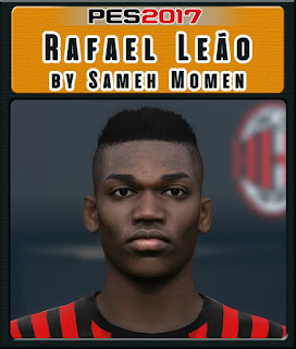 PES 2017 Faces Rafael Leao by Sameh Momen