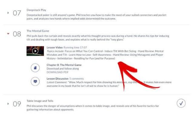 Phil Ivey MasterClass Review Tilt Control