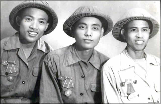Nụ cười của Lính