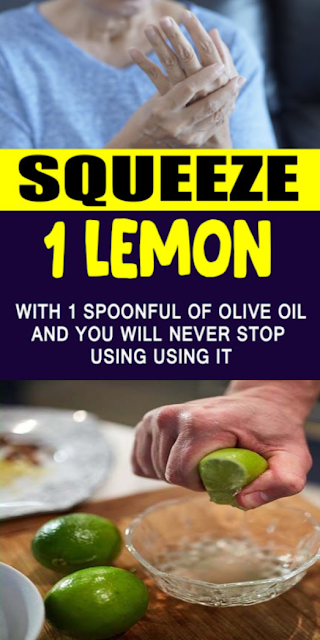 Squeeze 1 Lemon (or Lime) With 1 Spoonful of Olive Oil and You Will Never Stop Using It