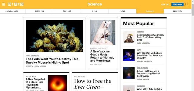 Wired - Blog Teknologi Terpopuler