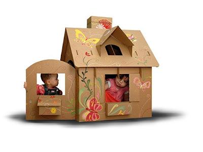 Kết quả hình ảnh cho làm đồ chơi cho bé từ thùng carton