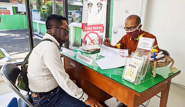 Pengajuan pinjaman di Dinas Koperasi