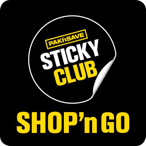 PAK'nSAVE Sticky Club SHOP'nGO
