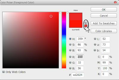 اختيار لون مناسب لتصاميم الطباعة