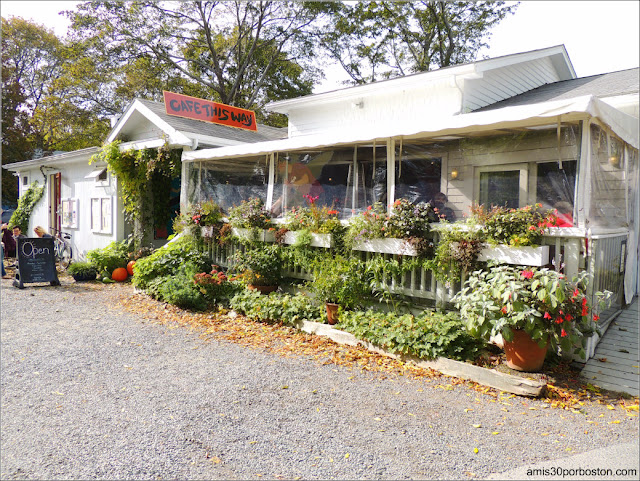 Cafe This Way en Bar Harbor, Maine