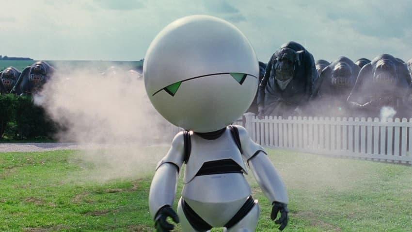 """Картинки по запросу """"автостопом по галактике робот"""""""