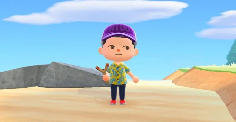 Animal Crossing: New Horizons - How to get and build the slingshot