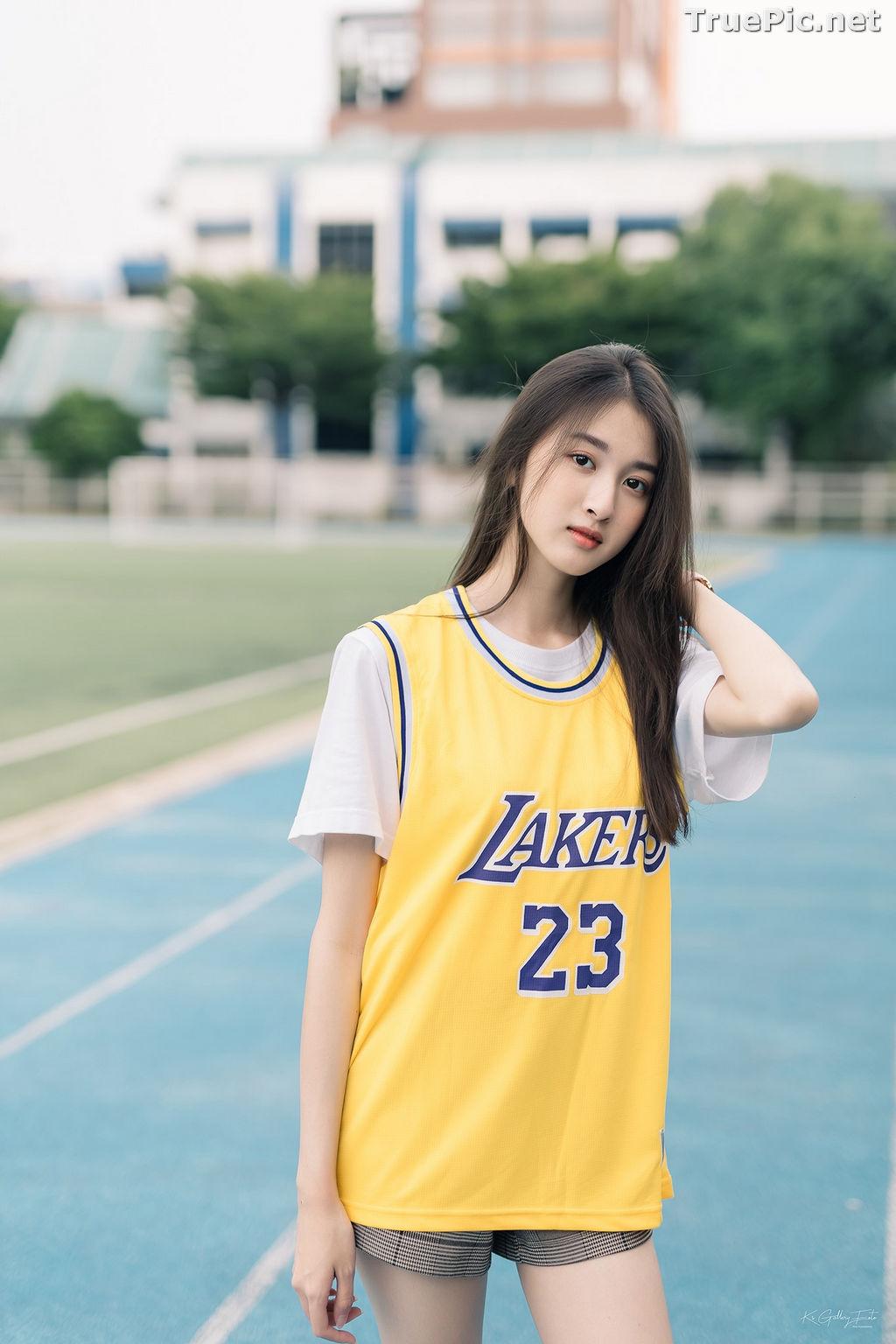 Image Thailand Beautiful Girl - View Benyapa - Long Hair Sport Girl - TruePic.net - Picture-2