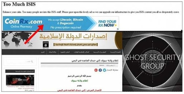ISIS dark web hacked