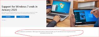 বন্ধ হচ্ছে Windows 7 জানুয়ারীতেই, উইন্ডোজ ১০ আপগ্রেড করুন