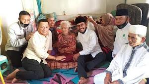 Walikota Bima Serta Ketua DPRD Kota Bima Kunjungi Kediaman Nenek Bodi Lansia 114 Tahun.