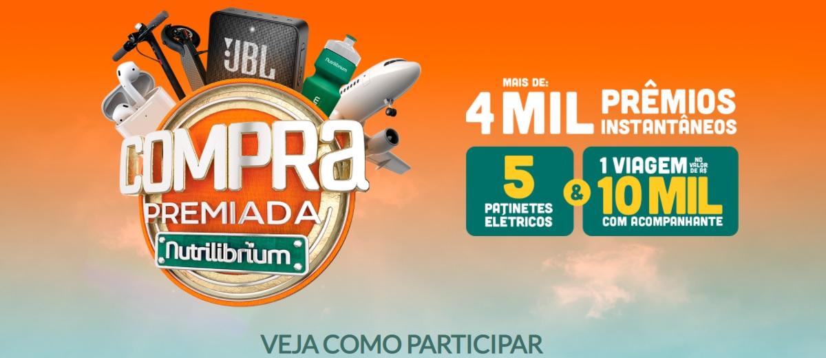 Participar Promoção Nutrilibrium 2021 Compra Premiada Viagem e Patinetes Elétricos Cadastrar