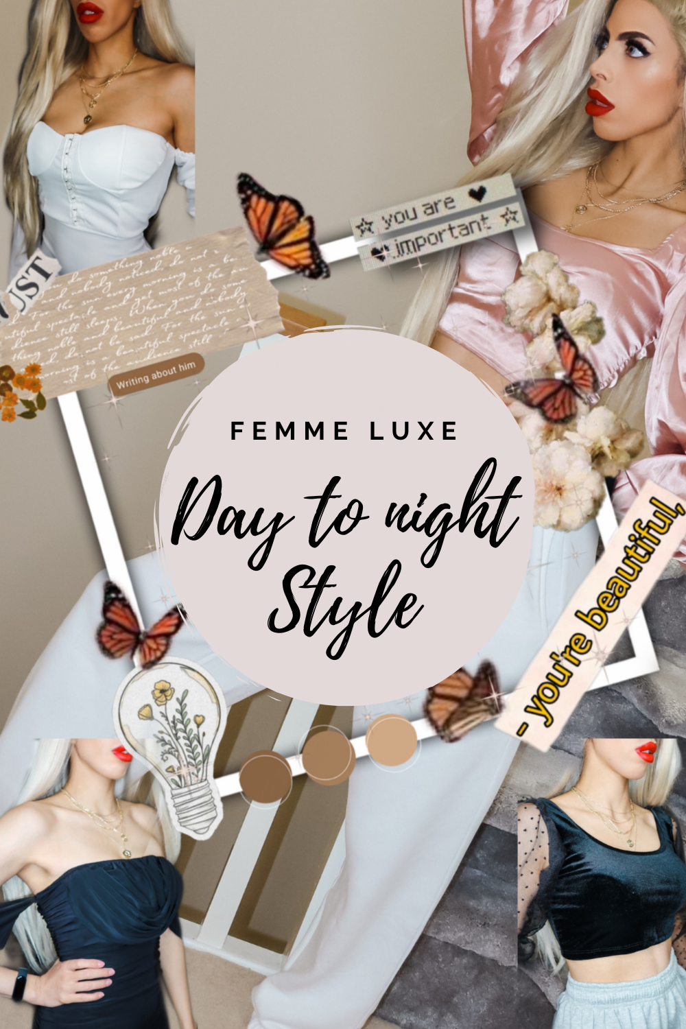 Day to Evening style by Femme Luxe