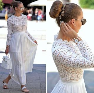 vestir elegante con zapato plano