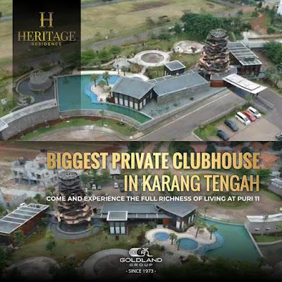 heritage residence tangerang