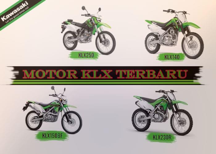 Deretan Motor KLX Terbaru