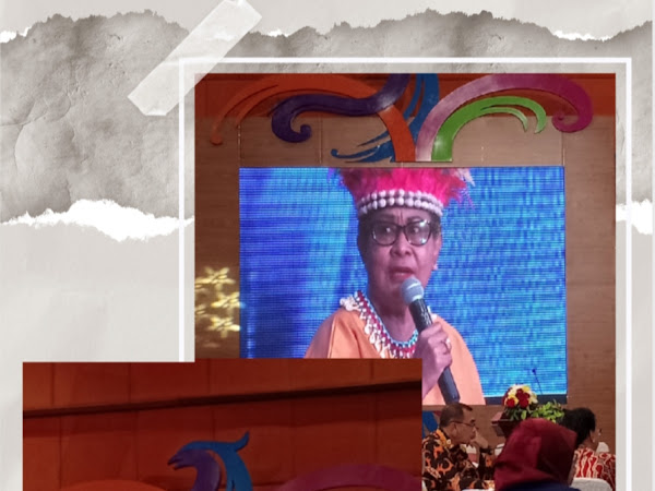 Yohana Yembise Potret Perempuan Cemerlang Dari Papua