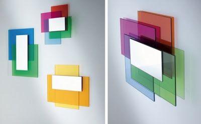 Color Laminated Mirror NYC