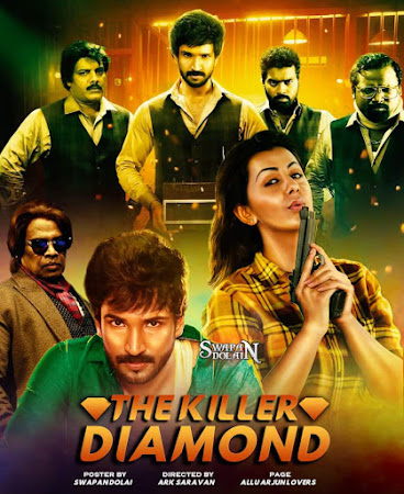 Poster Of The Killer Diamond In Hindi Dubbed 300MB Compressed Small Size Pc Movie Free Download Only At worldfree4u.com