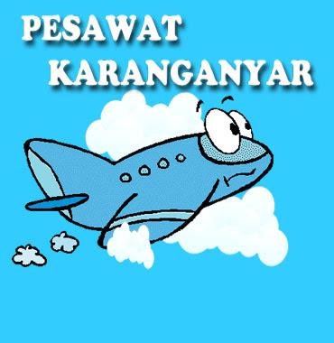 Pesawat jatuh di Karanganyar