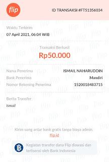 Bukti Transfer - Cara Transfer Antar Bank Tanpa Biaya Admin