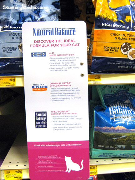 Who Carries Natural Balance Cat Food