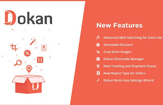 Download Dokan Plugin For Wordpress v2.6.3 free
