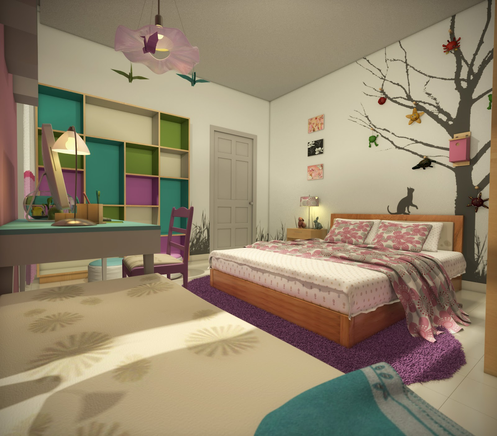 Old Girl Bedrooms: Khoi's Blog: 12-year-old Girl's Room
