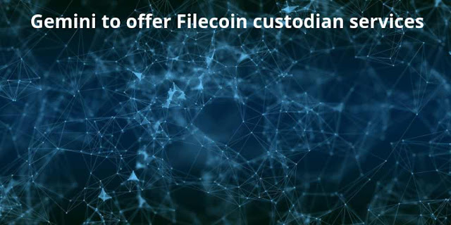 Gemini to offer Filecoin Custodian Services