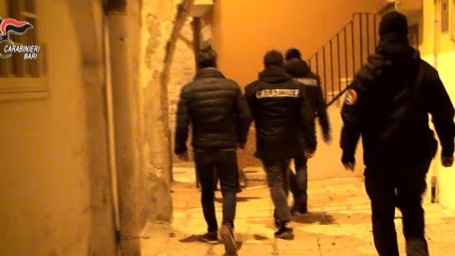 "Bari: Operazione ""Agorà"", condanne definitive, affiliati clan ""Strisciuglio"", 26 ordini di carcerazione(i NOMI)"