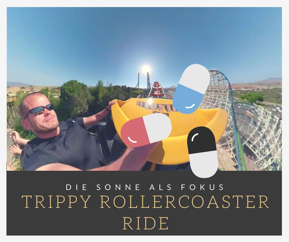 Fixed Focus Rollercoaster Movie   Die Achterbahn im psychedelischen Clip