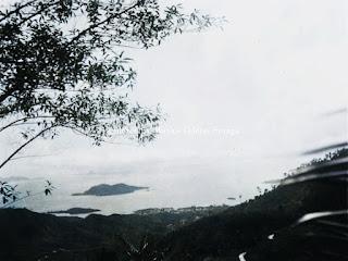 pemandangan kota sibolga dan laut